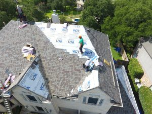 Austin TX roof being replaced by WDR of Austin