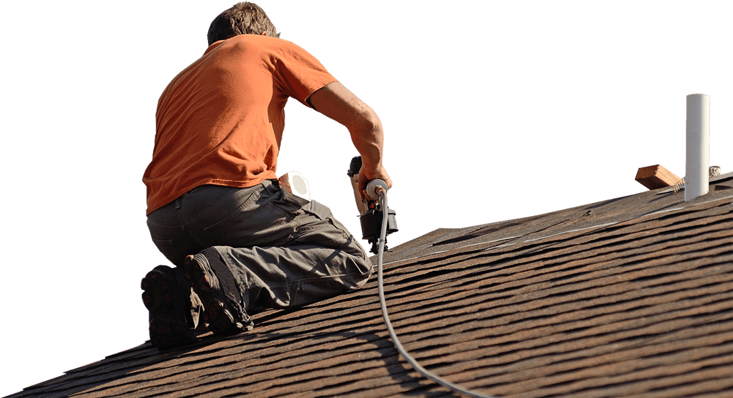 Man Working Roof